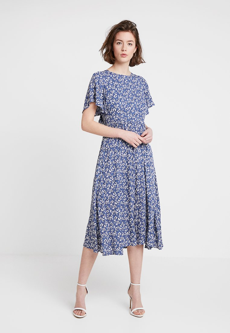 Louche - TEMOE DITSY - Day dress - blue