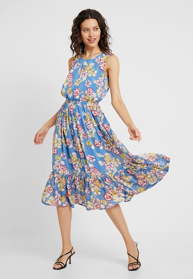 CELINA CARNATION - Denní šaty - blue