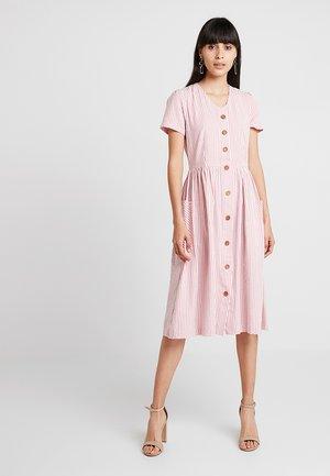 ZELDA STRIPE - Skjortekjole - pink