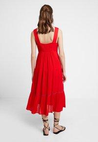 Louche - PAZ - Maxi dress - coral - 2