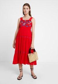 Louche - PAZ - Maxi dress - coral - 1