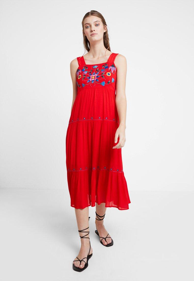 Louche - PAZ - Maxi dress - coral