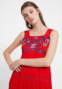 Louche - PAZ - Maxi dress - coral - 3