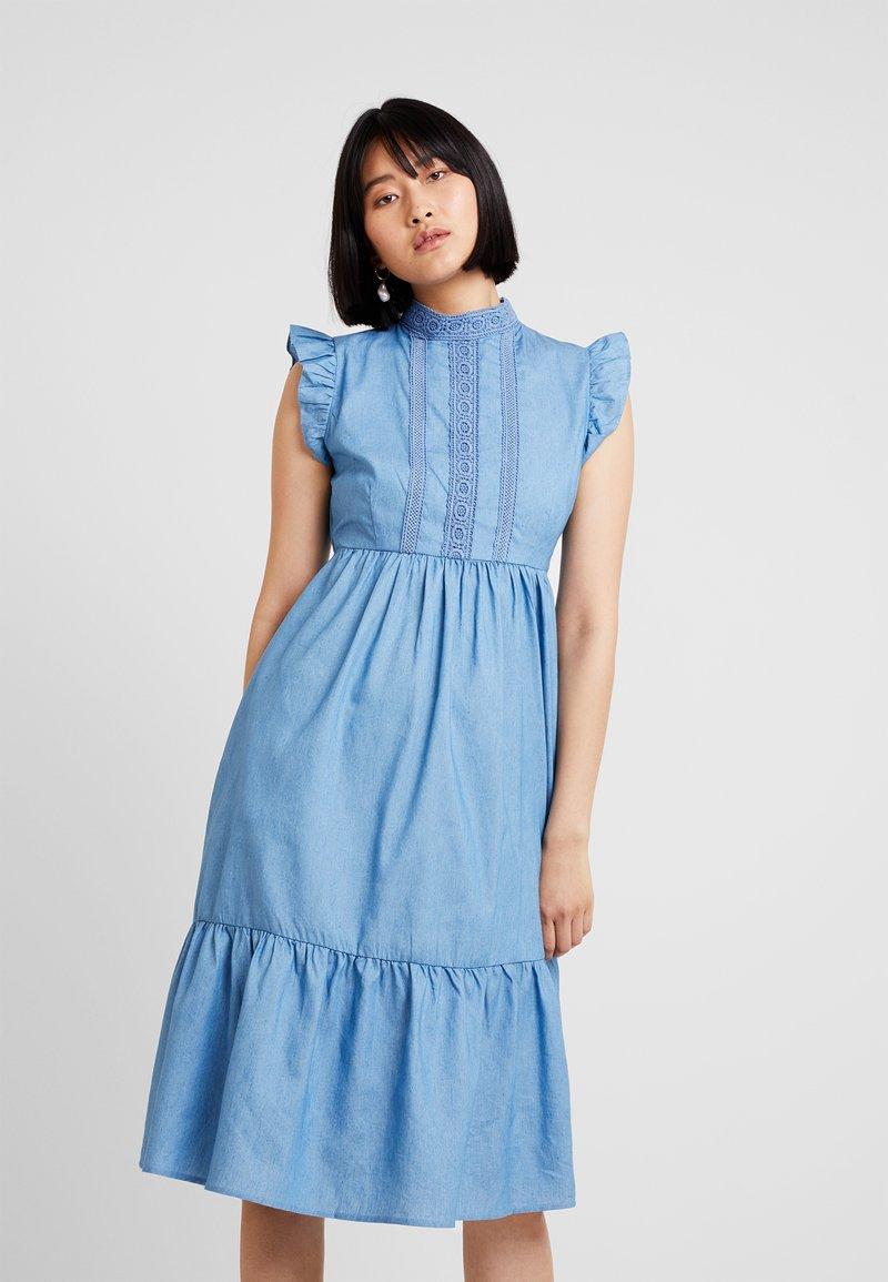 Louche - ALLY - Denim dress - blue