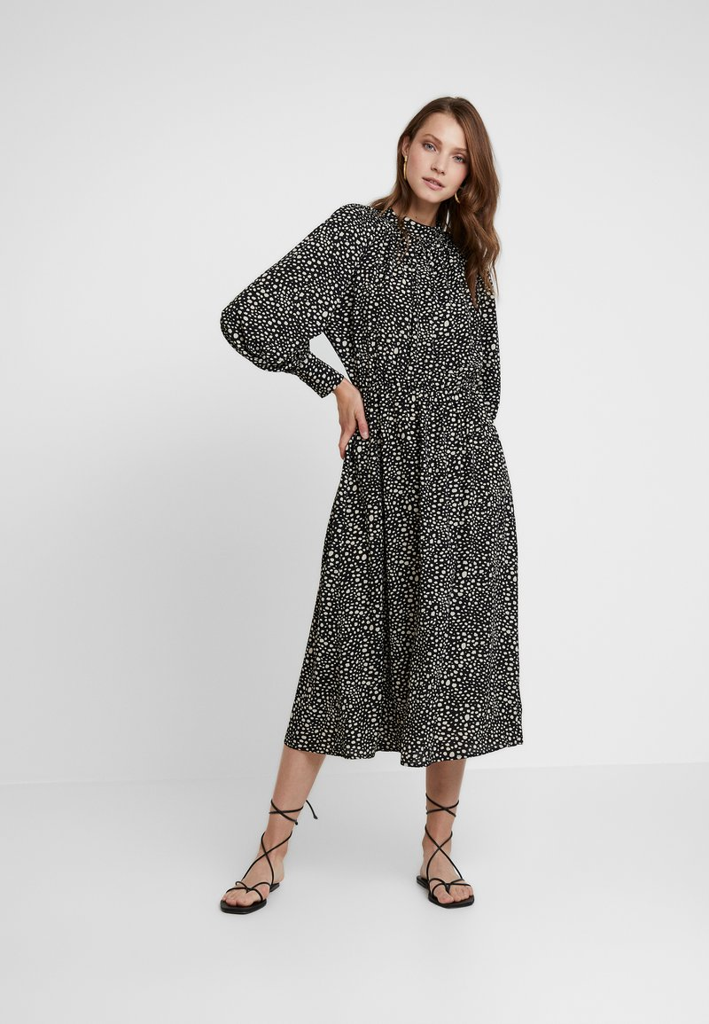 Louche - NEIMA ANIMAL - Maxi dress - black
