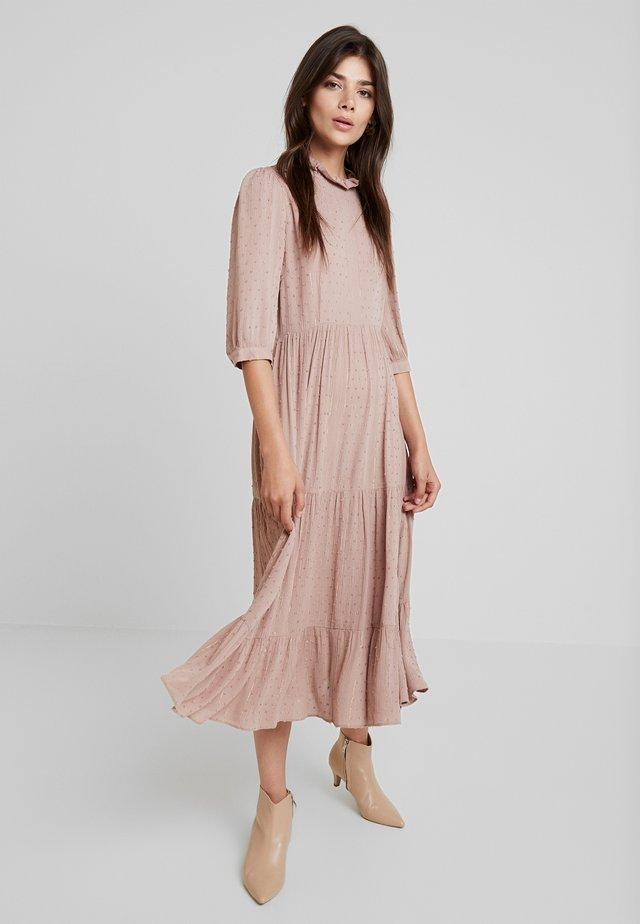 PIPER-DOBBY - Maxi šaty - pink