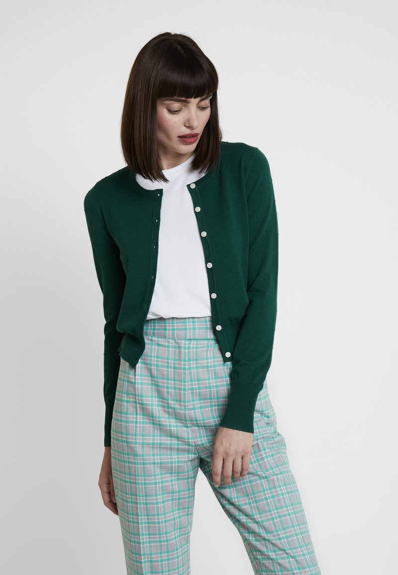 Louche - IDIE SPOT - Strickjacke - green