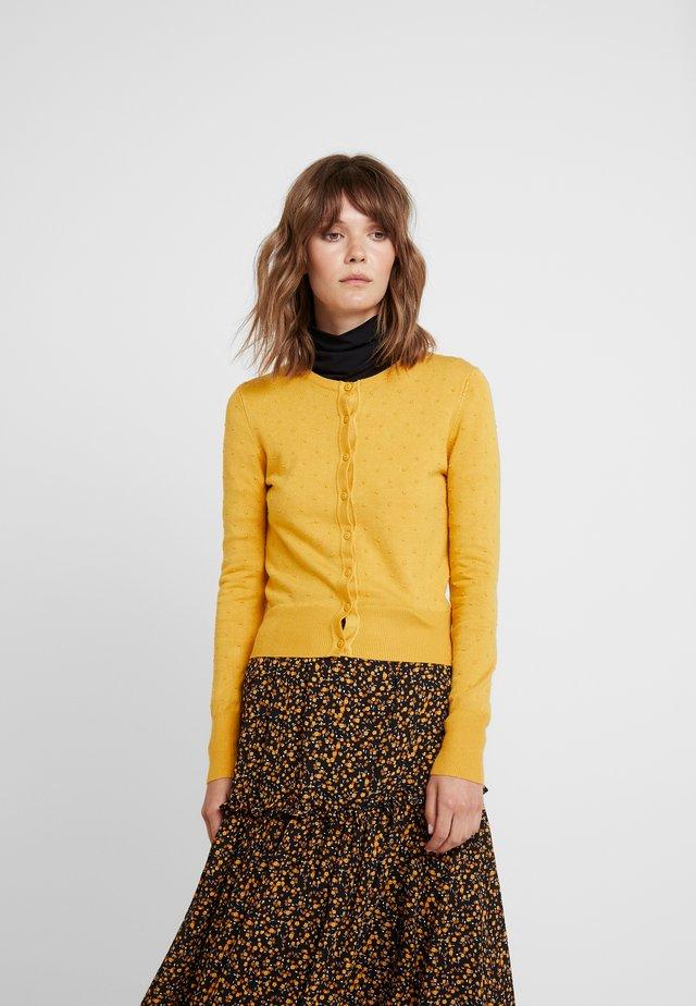 IDIE SPOT - Neuletakki - yellow