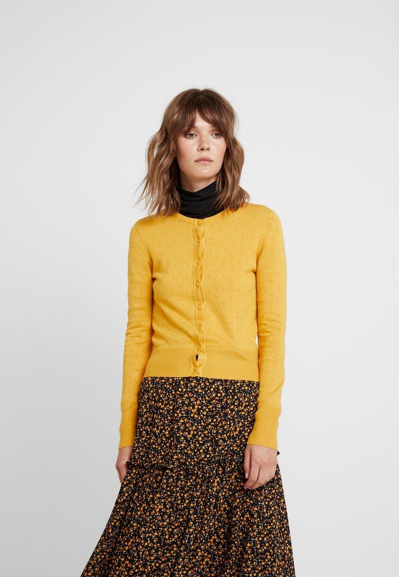 Louche - IDIE SPOT - Strikjakke /Cardigans - yellow