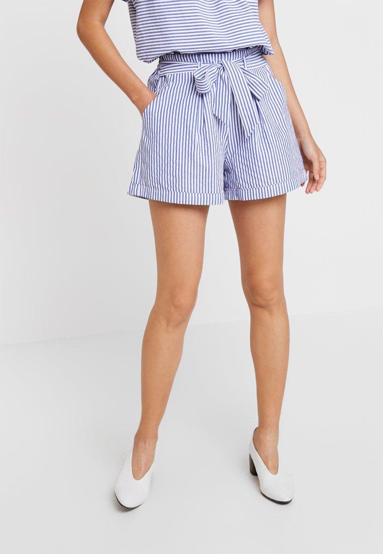 Louche - SOREN STRIPE - Shorts - chambray