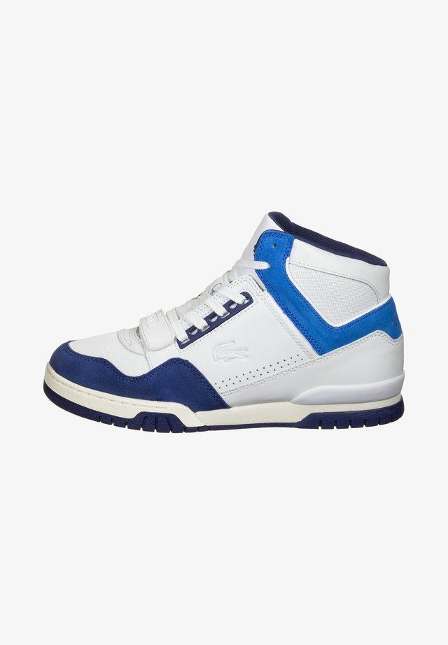 Baskets montantes - white/blue