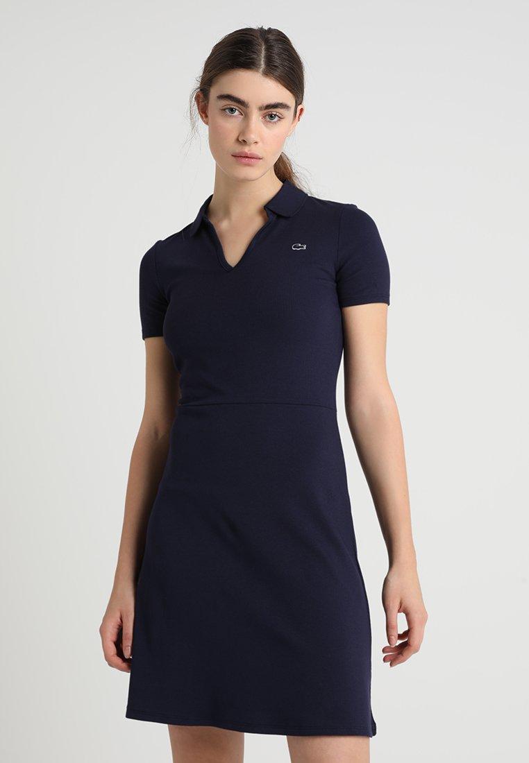 Lacoste LIVE - Robe en jersey - navy blue