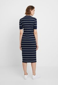 Lacoste LIVE - Robe fourreau - navy blue - 2