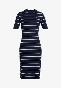 Lacoste LIVE - Robe fourreau - navy blue - 4