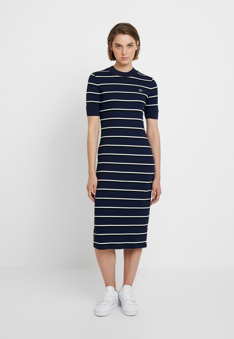 Lacoste LIVE - Robe fourreau - navy blue
