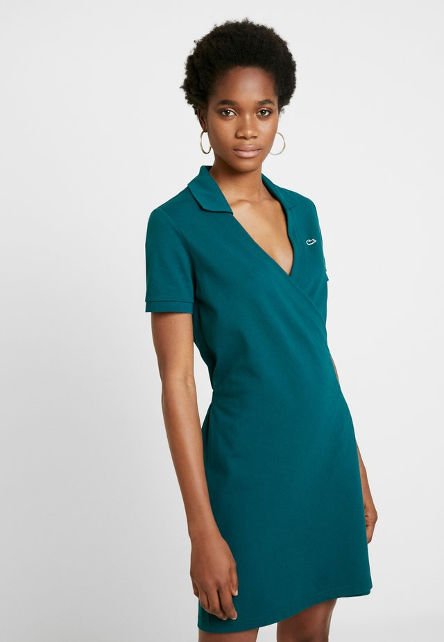 Korte jurk - pine