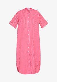 Lacoste LIVE - Košilové šaty - flour/red - 4