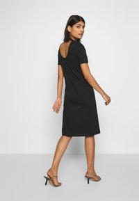 Lacoste LIVE - Jersey dress - black - 2