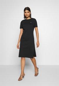 Lacoste LIVE - Jersey dress - black - 1