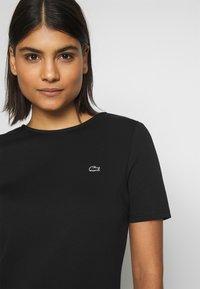 Lacoste LIVE - Jersey dress - black - 5