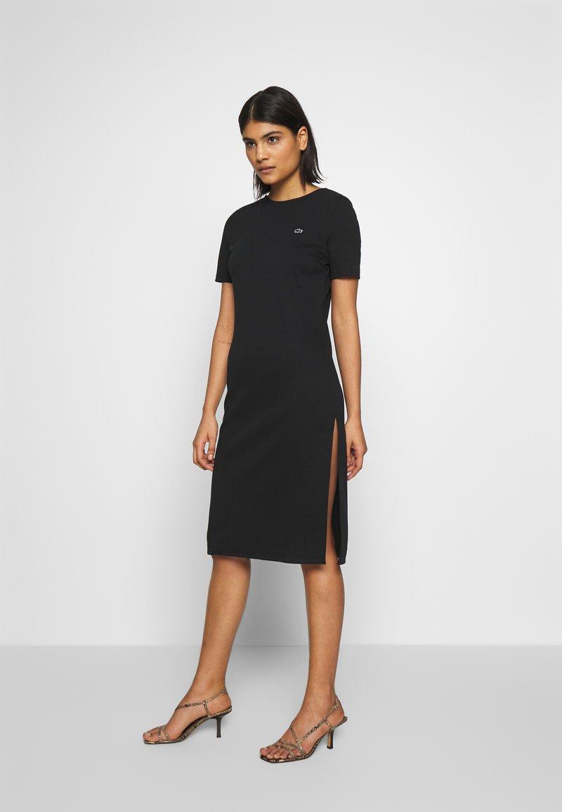 Lacoste LIVE - Jersey dress - black