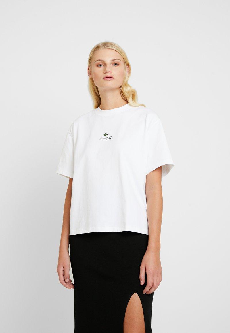 Lacoste LIVE - T-shirt basique - white