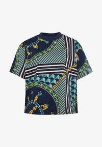 Lacoste LIVE - Print T-shirt - navy blue/multicolor - 3