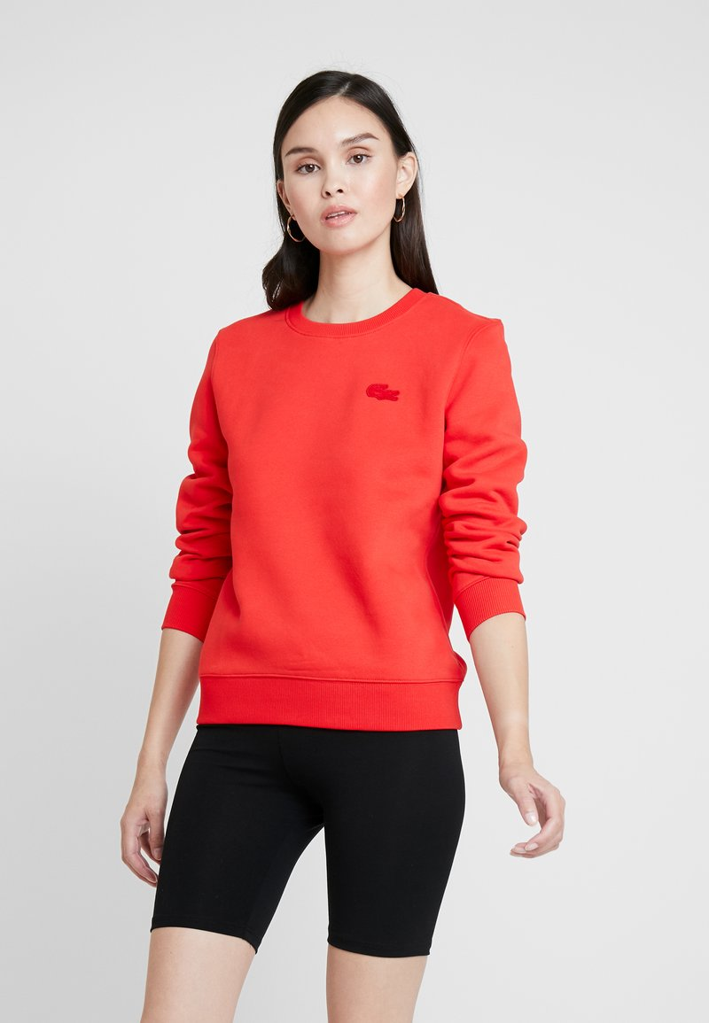 Lacoste LIVE - Sweatshirt - flash red
