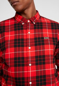 Lacoste LIVE - Camicia - flash red - 5