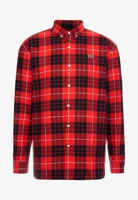 Lacoste LIVE - Camicia - flash red - 4