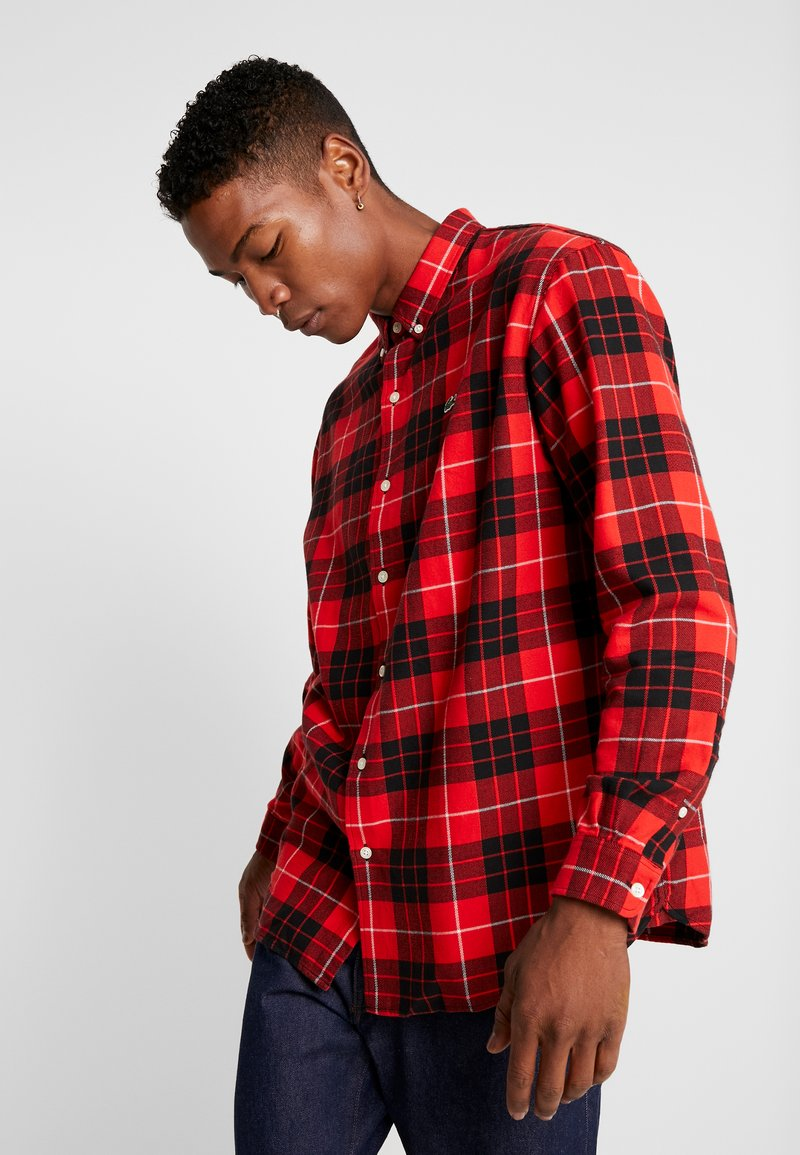 Lacoste LIVE - Camicia - flash red