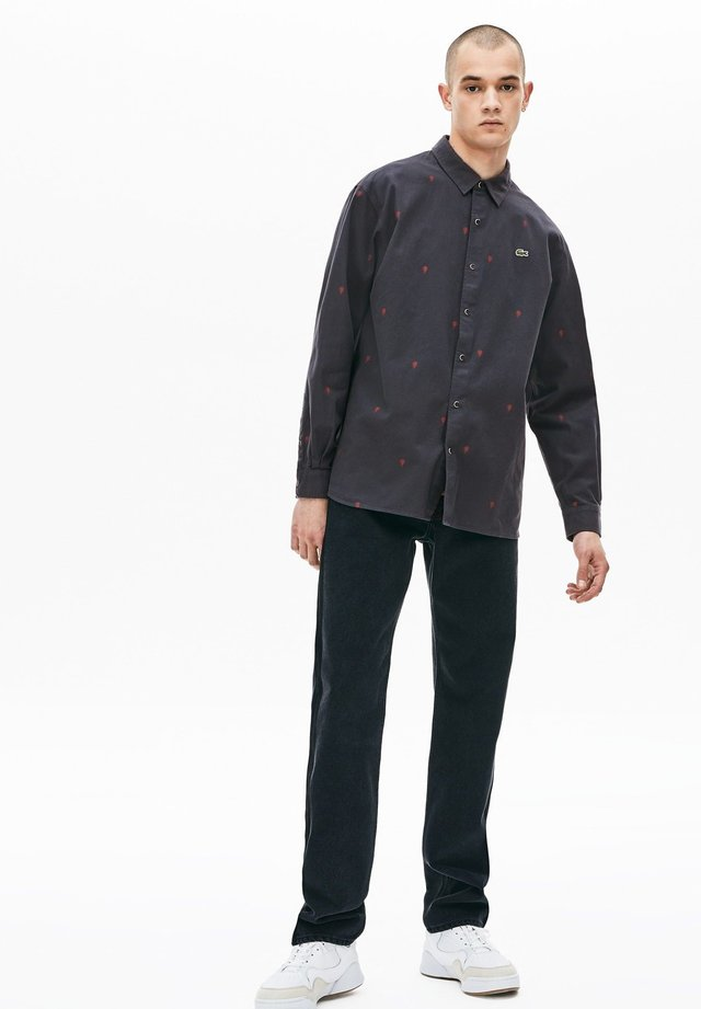 LACOSTE LIVE - CHEMISE MANCHES LONGUES HOMME - CH8225 - Hemd - dark gray/white