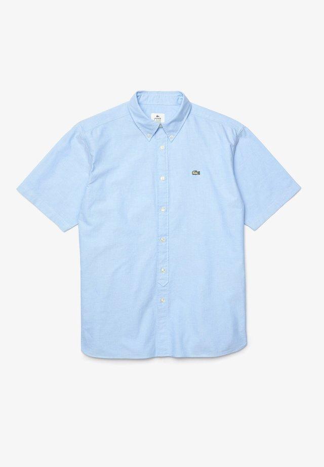 CH3848 - Chemise - bleu clair / blanc