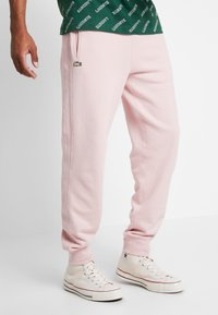 Lacoste LIVE - Tracksuit bottoms - lychee - 0