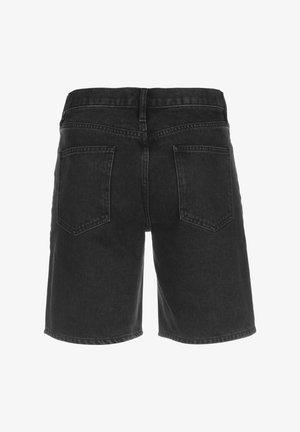 LACOSTE LIVE - BERMUDA HOMME - FH3947 - Short en jean - noir