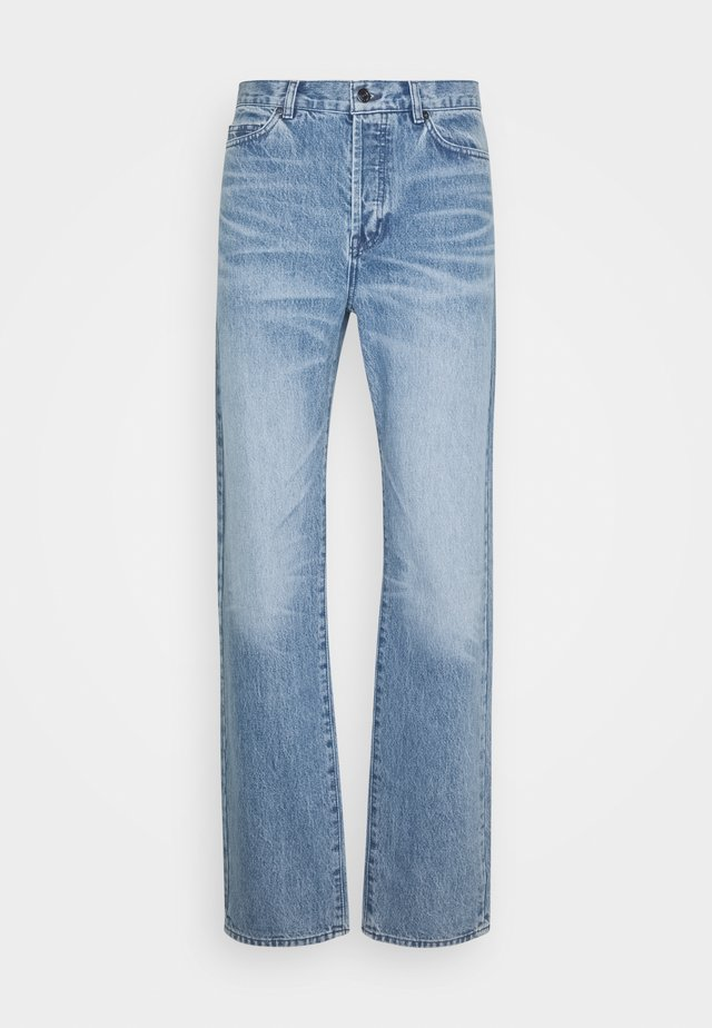 Jeans straight leg - medium indigo wash