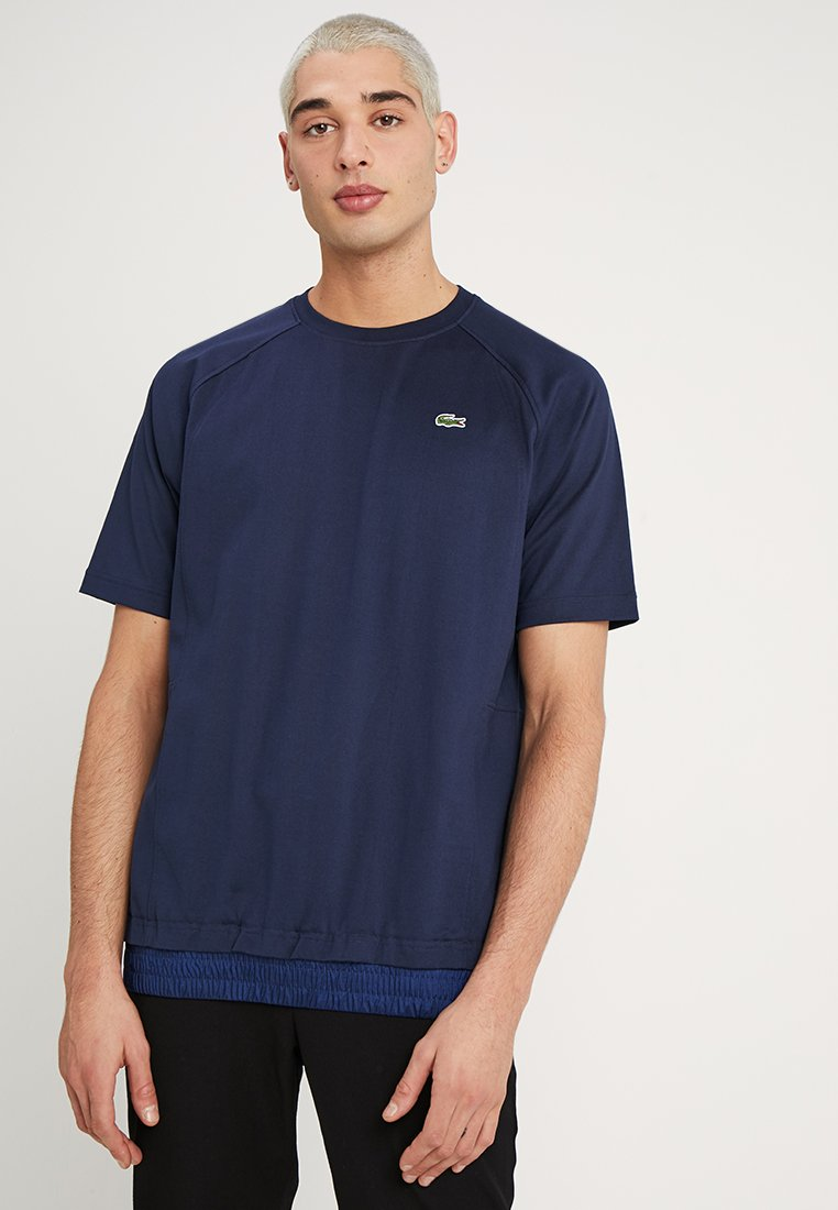 Lacoste LIVE - T-shirt basique - navy blue/methylene