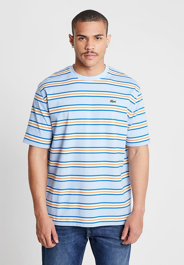 Lacoste LIVE - T-shirt imprimé - creek multico