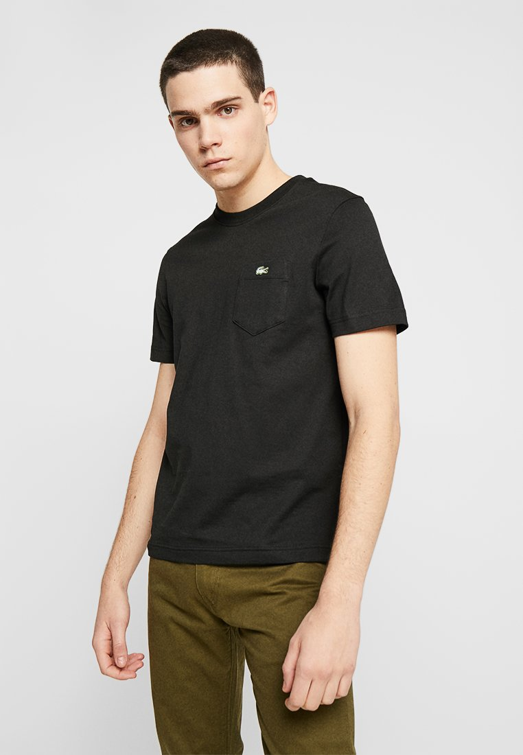 Lacoste LIVE - T-shirt basique - black