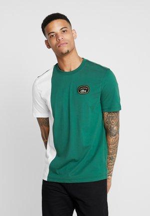 T-shirt print - vert/farine