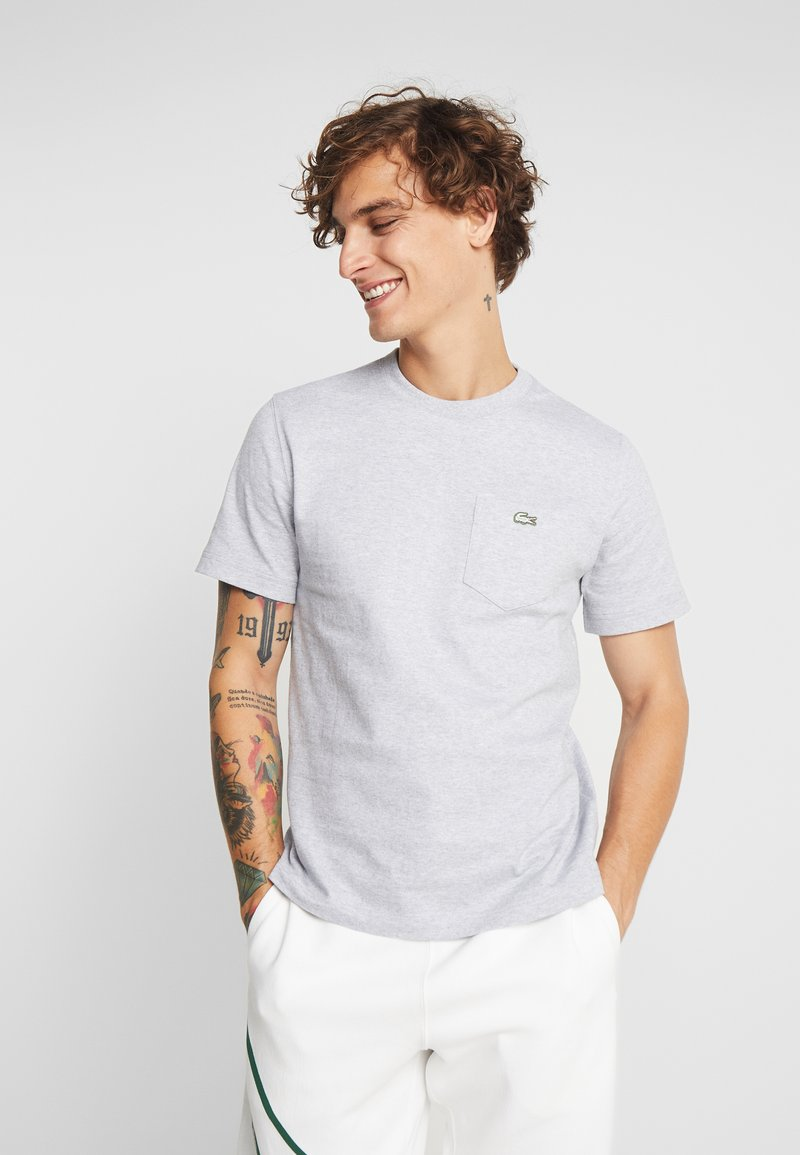 Lacoste LIVE - T-shirt basic - silver chine