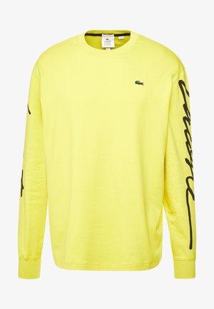 T-shirt à manches longues - midday yellow/black