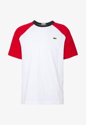 TH6185 - Print T-shirt - white/red/black