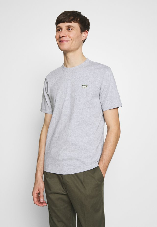 T-shirt basic - silver chine