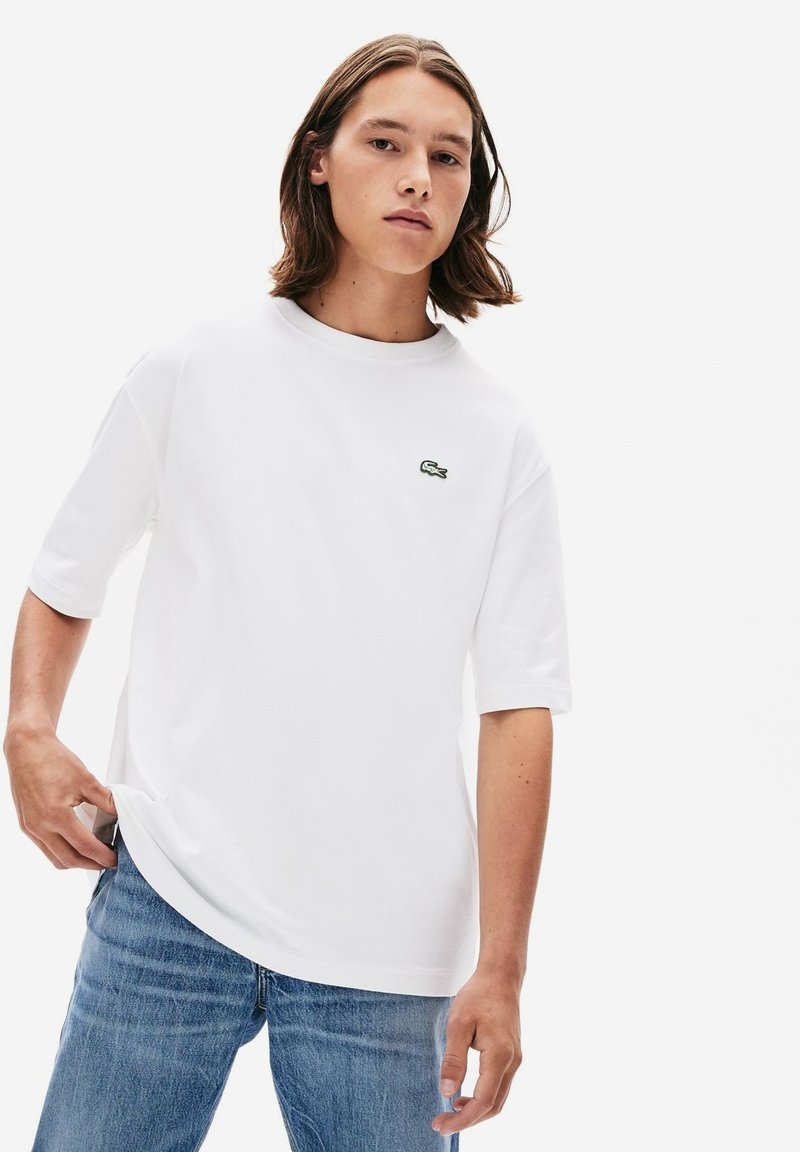 Lacoste LIVE - TH8084-00 - T-shirt - bas - white