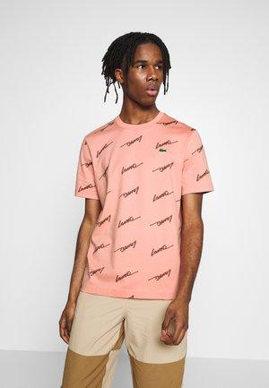 Print T-shirt - elf pink