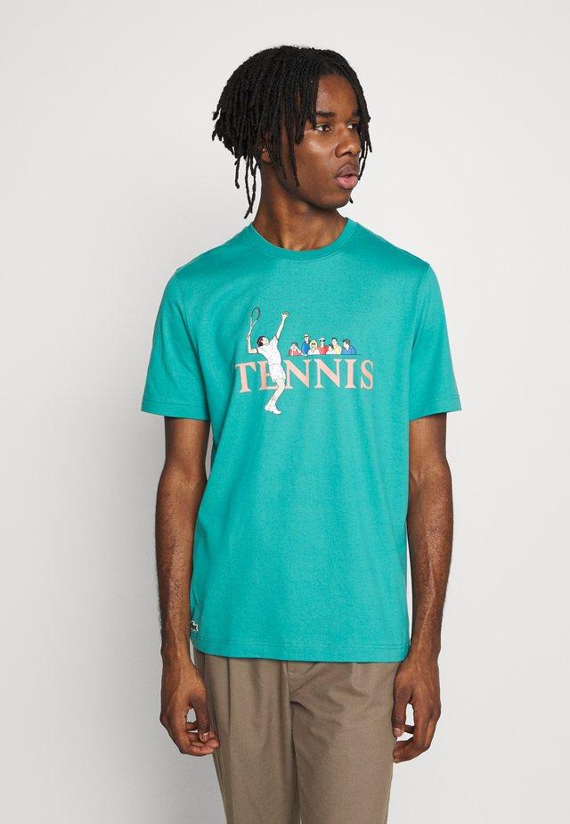 T-shirt imprimé - niagara blue/multico
