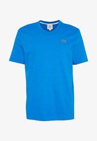 Lacoste LIVE - T-Shirt print - nattier blue/white - 4