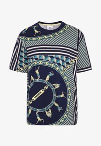 Lacoste LIVE - T-shirts med print - navy blue/multico - 3