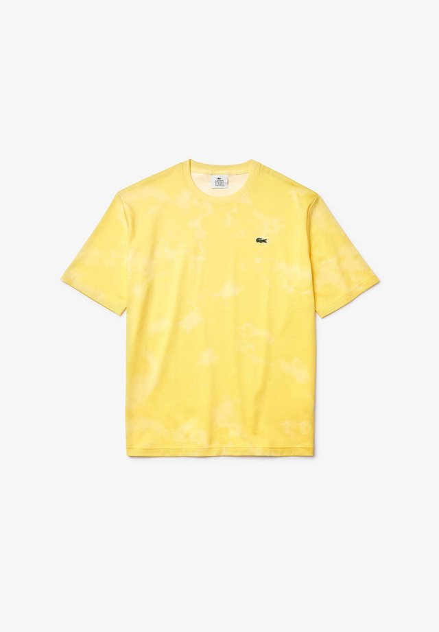TH5561 - T-shirt imprimé - jaune / jaune